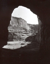 Navajo Homestead from Tunnel on White House Trail