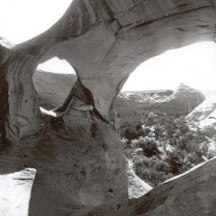 Spiderweb Arch Hunt's Mesa