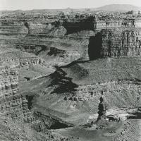 Butte in Salt Creek Canyonlands