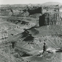 Butte in Salt Creek Canyonlands