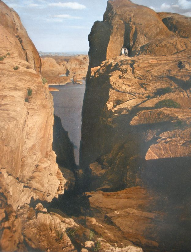 Lake Powell Hole in the Rock