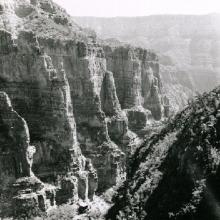 Palisades on the North Kiabab Trail