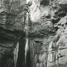 Ribbon Falls on North Kiabab Trail
