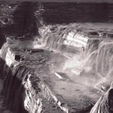 Grand Falls winter flow