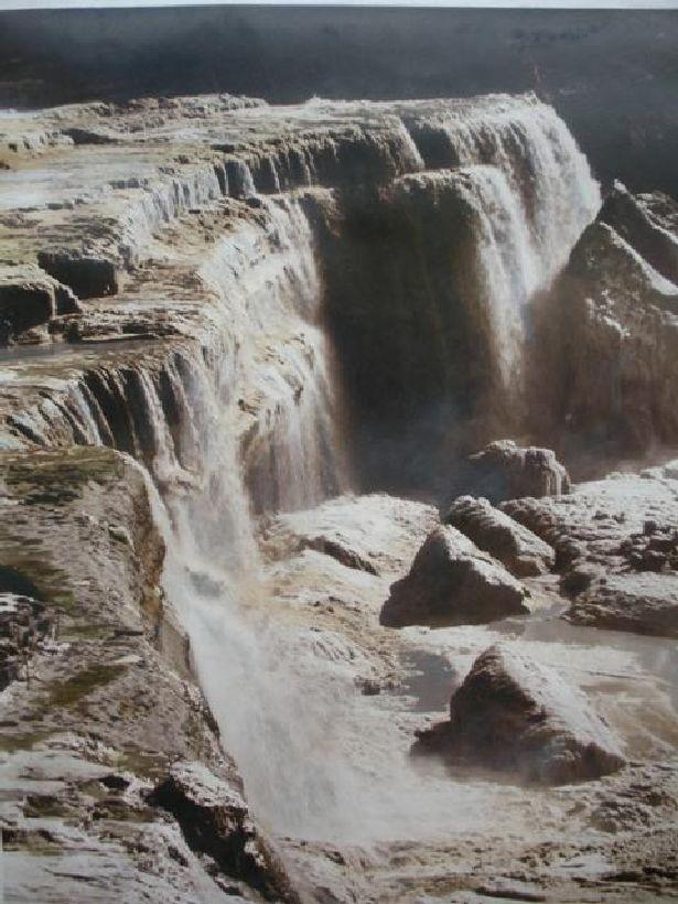 Grand Falls running high