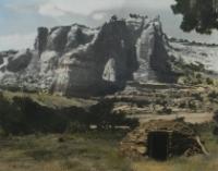 NN HT 820 Abandoned Hogan at White Mesa